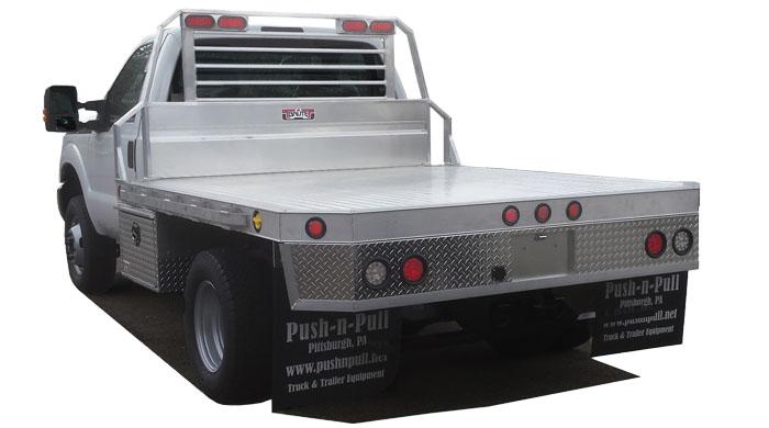 Truck Accessories,  Aluminum Flatbeds