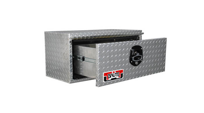 "18"" x 14"" x 24"" Single Drawer Under Body, .100 thick diamond"