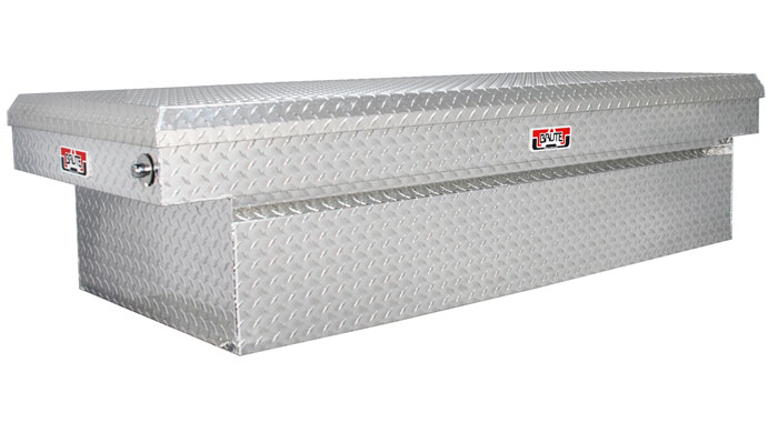Extra wide crossover tool box