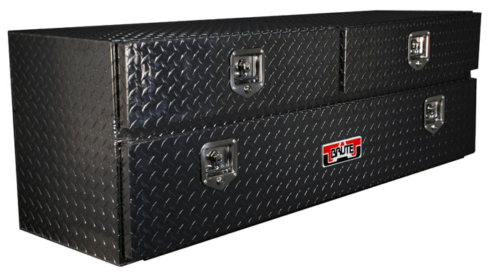 "60""x20"" UnderBody w/ Top Drawer - Black"