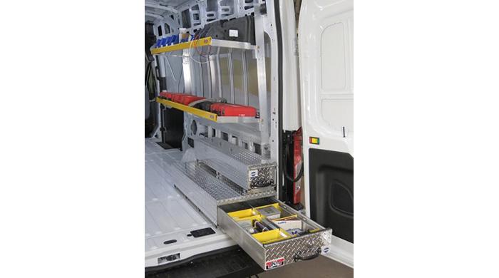 Unique Truck Accessories, Brute, Transit Shelf, HFS2245P